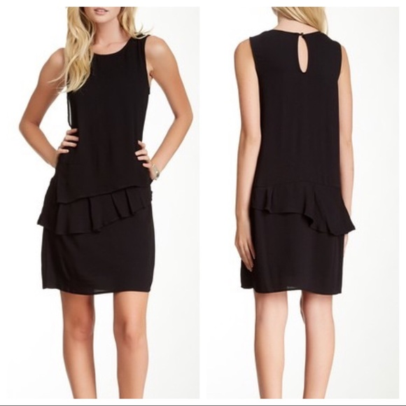 Ella Moss Dresses & Skirts - Ella Moss NWT Black Stella Tiered Shift Dress NEW